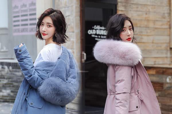 这个寒冷的冬天棉服该如何穿衣搭配 轻盈又显瘦-幽兰花香