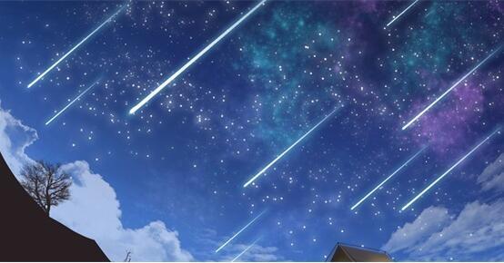 2020年首场流星雨4日降临 1小时120颗划过天际够壮观!-幽兰花香