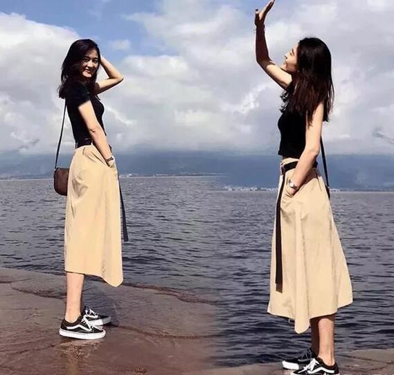 170女生穿衣搭配技巧和法则-幽兰花香