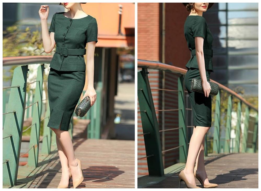 懒女人最爱的时尚套装,不仅省心而且时尚!-幽兰花香